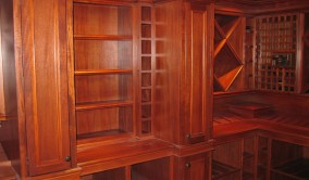 Custom Wine Cellar Staining in Bergen County NJ | Perfection Plus Painting