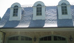 Steep Slate Roof Not a Problem | Perfection Plus Painting
