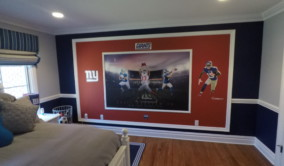 Giants Theme Room Upper Saddle River NJ | Perfection Plus Painting